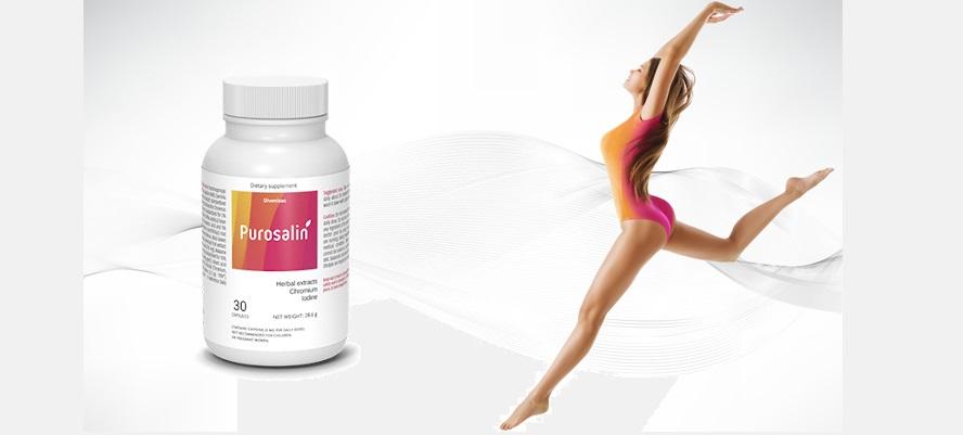 Purosalin - ingrédients naturels. Effets d'application