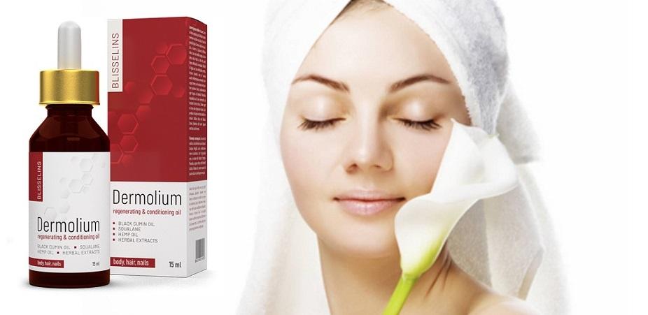 Comment la composition de Dermolium? Effets d'application. Y a-t-il des effets secondaires?