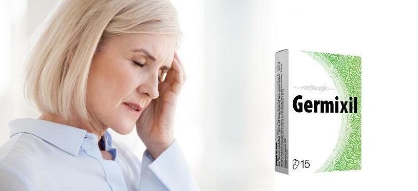 Comment la composition de Germixil? Effets d'application. Y a-t-il des effets secondaires?